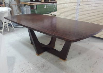 Finished Desk in Glossy Finish