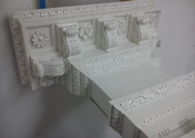 White Painted Column